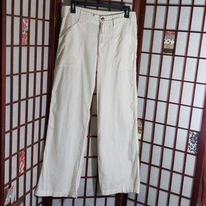 Patagonia woman hemp blend loose pants 8